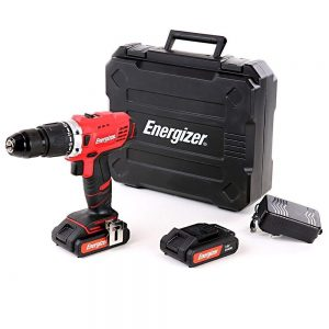 energizer-ezpp18v2a-18v-combi-hammer-drill-with-2-x-2-0ah-batteries-charger-case-18-v
