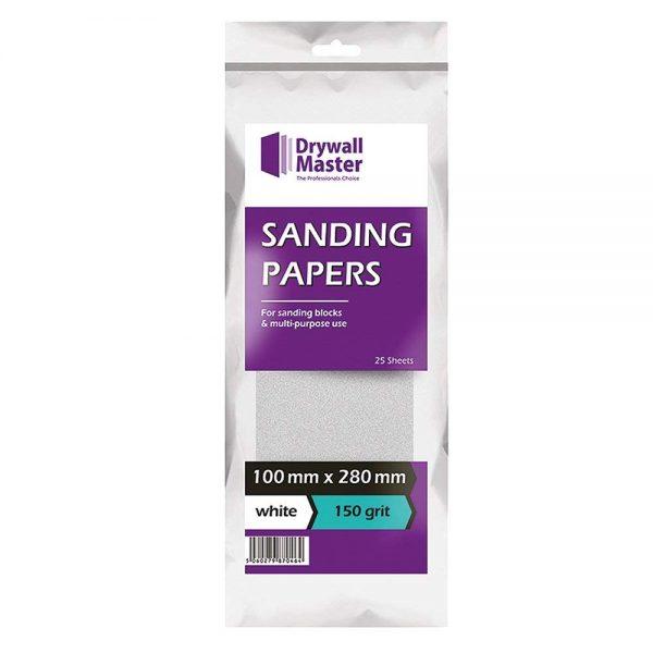 drywall-master-sand-paper-white-dmsp150w-100mm-x-280mm-150-grit-pack-of-1